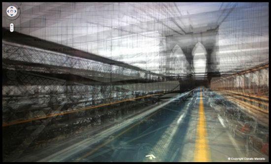 Loop_shooting street view de Donato Maniello - Brooklyn Bridge de Nueva York