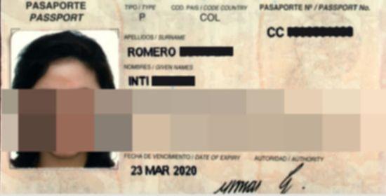 Pasaporte de Intimidad Romero