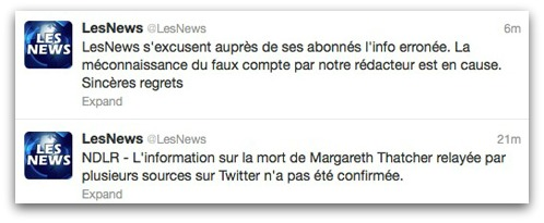 Lesnews-apology
