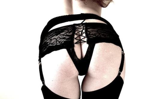 Retro Suspender-belt Venus O'Hara-0000