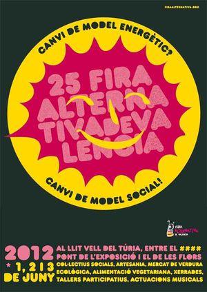 Cartel-Feria-Alternativa-de-Valencia-2012-Turismo-en-la-Comunidad-Valenciana