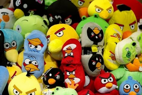 Merchandasing angry birds
