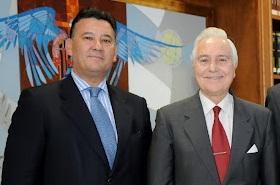 Jerónimo Escorial y Carlos Dívar