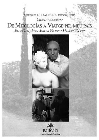 Cartell diàleg Garí-Vicent Fundació Caixa Castelló