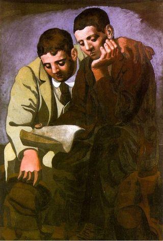 Picasso la lectura de la carta