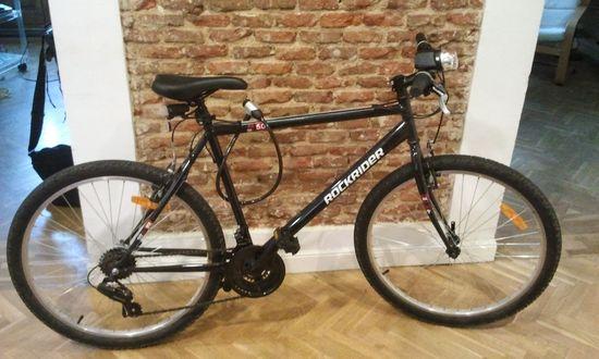 Mi 'supercampeona', la bici más barata del centro comercial