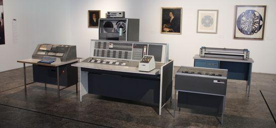 La IBM 7090, la primera máquina en el Centro de Cálculo de la Complutense de Madrid