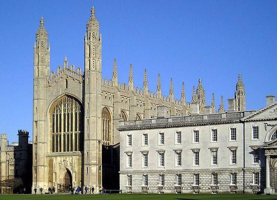 Capilla del Kings College en Cambridge