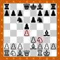 Captura de pantalla de GNU Chess en GNU:Linux (Ubuntu). Autor: Robert Ancell