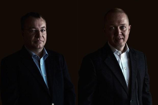 Stephen Elop y Marko Ahtisaari_Nokia