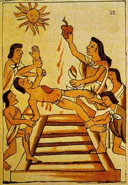Sacrificios humanos (2)