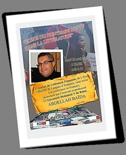 Conférence d'Abdellah Baïda sur le Printemps Arabe. Cliquez sur l'image pour l'élargir. 12 Abril 2012.