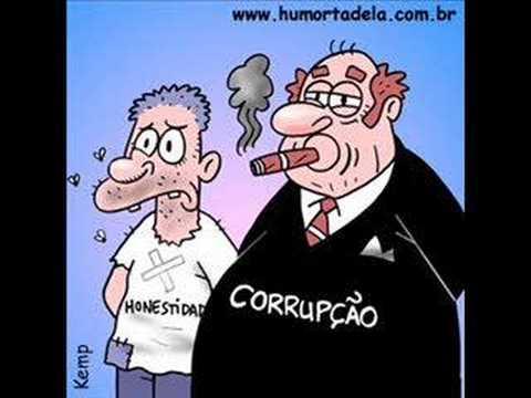 Viñeta sobre corrupcion