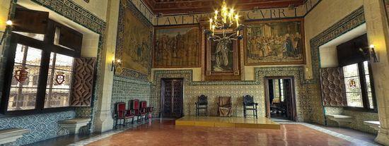 Visita virtual al Palacio de los Borja de Gandia