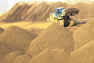 Excavadora mineral de hierroAP