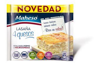 22 Lasaña cuatro quesos