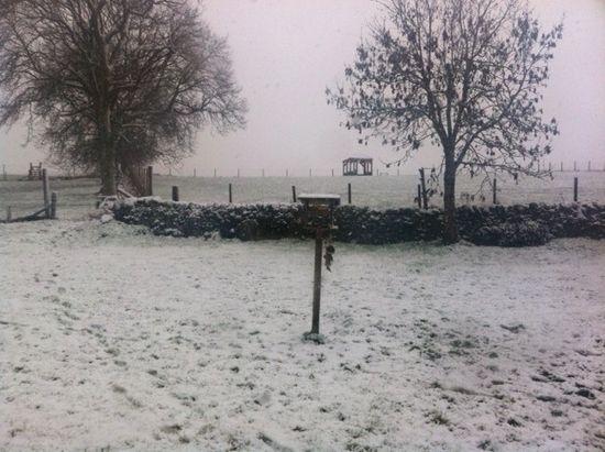Scotland in the snow