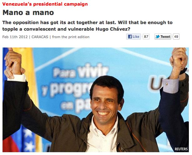 Capriles Economist