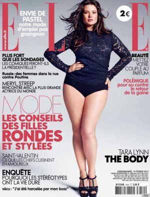 Portada de la revista 'Elle'.