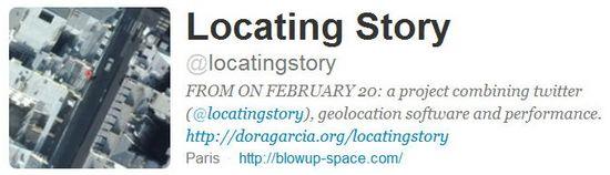 Locating story