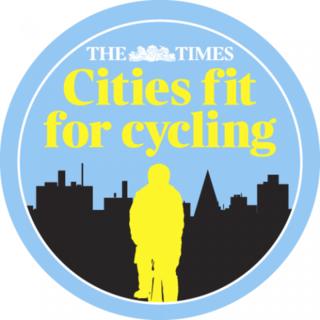 Campaña pro bici del periódico The Times