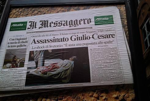 Assassinato Giulio Cesare