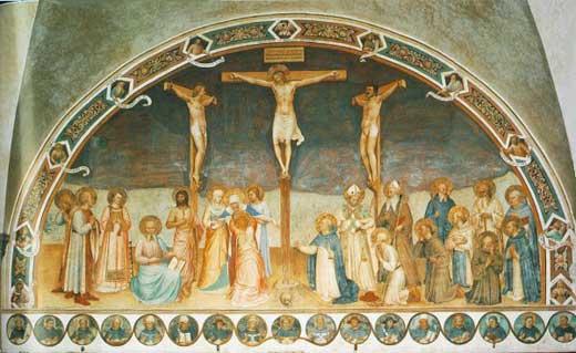 Cricifixión de Fra Angelico