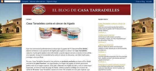 Falso blog
