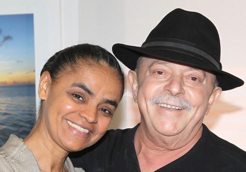 Lula y Marina Silva