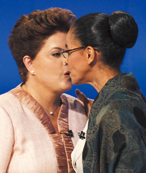 Dilma y Marina