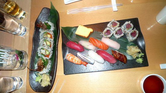 New ork enero 2011. MOrimoto. Sashimi