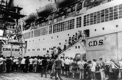 Españoles emigrando para Brasil