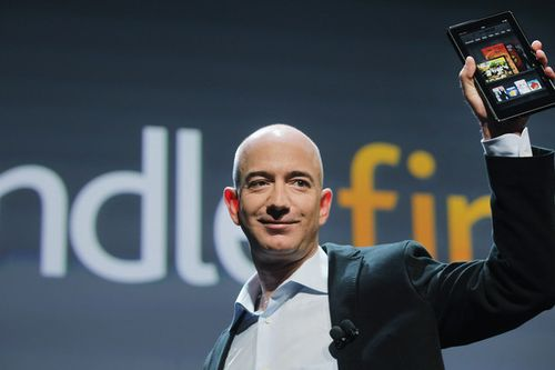 Jeff Bezos_Kindle Fire