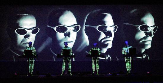 Kraftwerk en directo