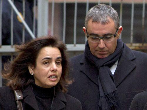 Ana María Tejeiro y Diego Torres