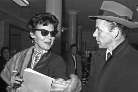 Sinatra y Ava Gardner en Madrid