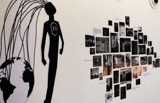 He Electronic Man de la pareja de artistas italianos, Oriana Persico y Salvatore Iaconesi