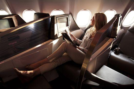 Upper-class-seat