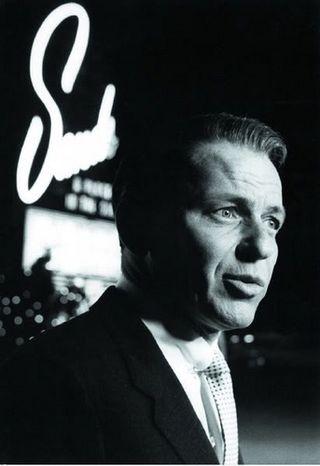 Sinatra frente al Sands