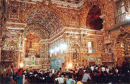 Iglesia barroca de San Francisco en Rio