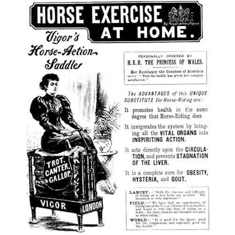 10-HORSE EXERCISE AT HOME