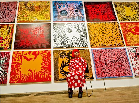 Tate Modern Yayoi Kusama