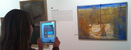 Realidad aumentada en Ca l'Arenas Centro de Arte del Museo de Mataró