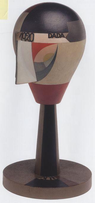 Sophie taeuber-arp.cabeza dada 1920