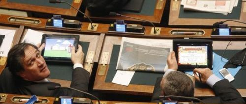 Ipad-parliament