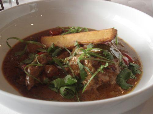 Curry de cuello de cordero