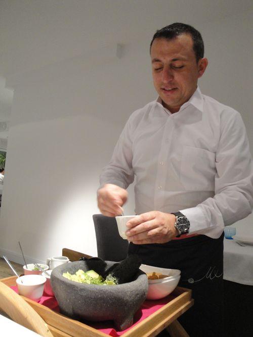 Preparando guacamole