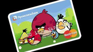 Tarjeta credito angry birds