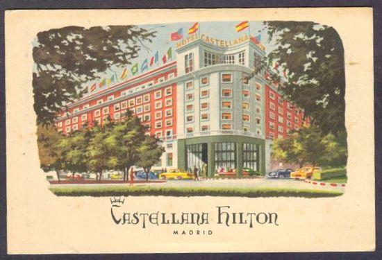 Postal del Castellana Hilton