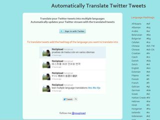 Traductor twitter